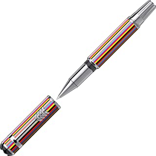 Montblanc Great Characters The Beatles Special Edition Lacquer and Metal Multi-Color Rollerball Pen 116257