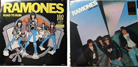 RAMONES Set of 2 Brand New Factory Sealed LP's - Leave Home AND Road To Ruin