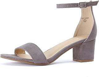 Best grey low heels Reviews