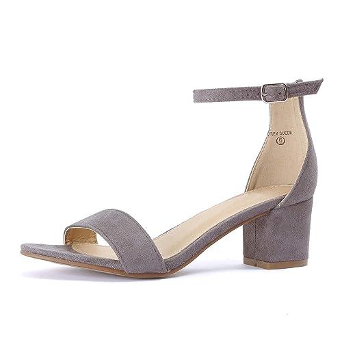 ece014298fcae Grey Suede Sandals  Amazon.com
