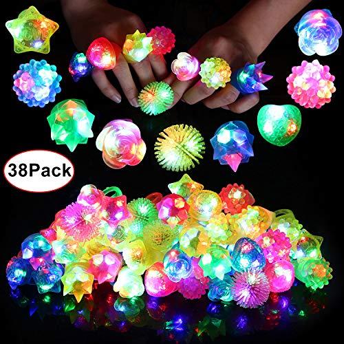 Neovoo Glowy Rings (38 Pack)