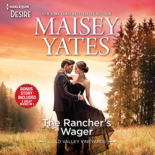 The Rancher's Wager & Take Me, Cowboy cover art