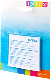 Intex 59631 Repair Patches Set of Six 7.5 Square Inch, White