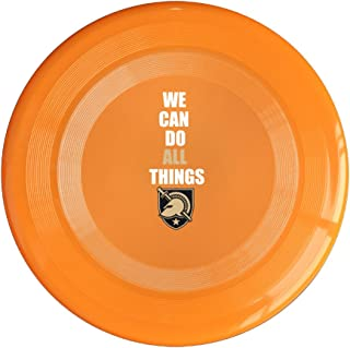 EVALY Army West Point We Can Do All Things 150 Gram Ultimate Sport Disc Frisbee Yellow