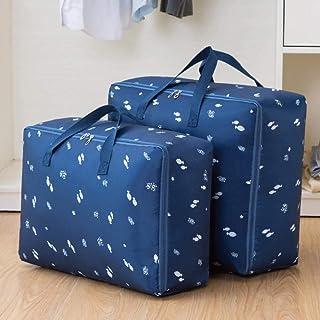 Sac de Rangement pour Courtepointe, Tissu Oxford imperméable, Courtepointe Mobile, Sac d'emballage pour Sac de tri de vête...