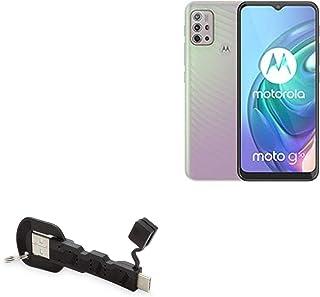 Cabo BoxWave para Motorola Moto G10 [carregador USB tipo C chaveiro] Chaveiro 3.1 Tipo C Cabo USB para Motorola Moto G10 –...