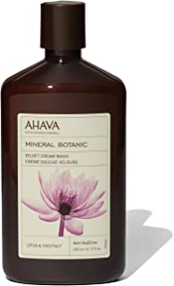 AHAVA Mineral Botanic Cream Wash,Lotus, 500ml