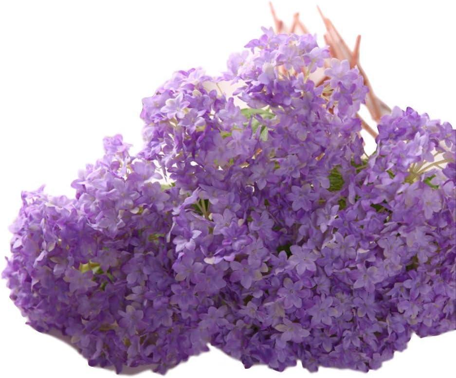 DSWJH Artificial 1 year warranty Max 79% OFF Flower Hydrangea Wedding Fak Flowers