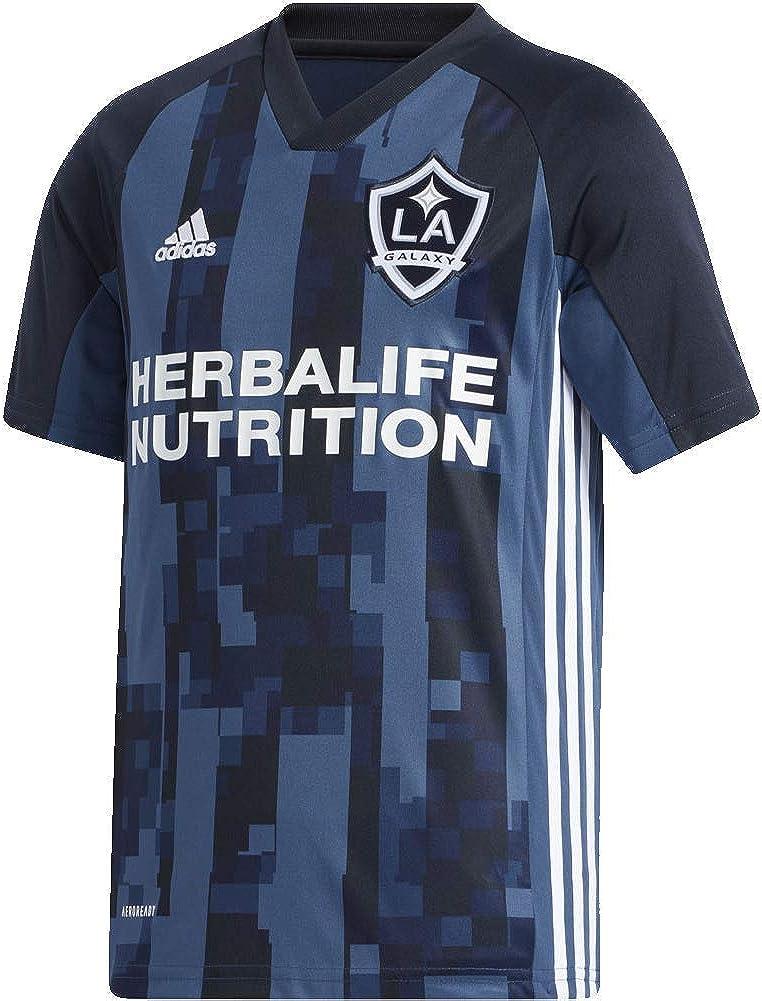 Amazon.com: adidas 2020 LA Galaxy Youth Away Jersey - Navy ...