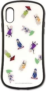 グルマンディーズ 刀剣乱舞-ONLINE- iPhoneXR(6.1インチ)対応ハイブリッドガラスケース Aタイプ tkr-03a ホワイト