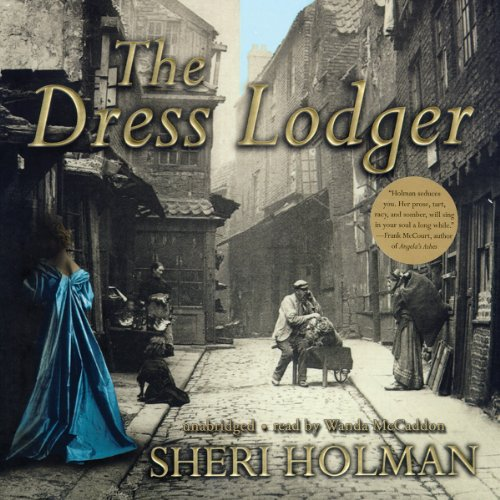 The Dress Lodger  audiobook cover art