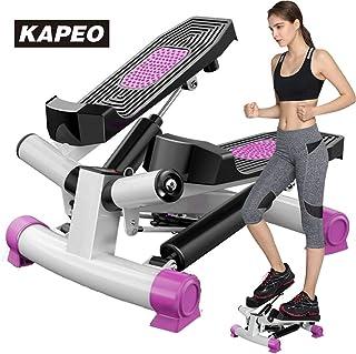 KAPEO Mini 3D ステッパー 山登り感覚 有酸素運動 ルームランナー 踏み台昇降運動 ステップ台 健康エクササイズ器具 1年間の製品保証