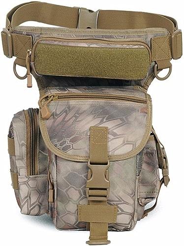 XXSZKAA-sac à dos 10L Sac à Dos Sac Tactique en Plein Air Poches pour Hommes Sac De Pêche Sac De Taille De Voyage en Nylon Imperméable