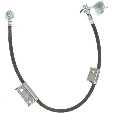 Pro Braking PBF7402-GLD-BLA Front Braided Brake Line Gold Hose /& Stainless Black Banjos