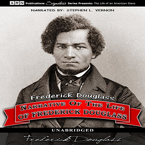 Narrative of the Life of Frederick Douglass audiobook cover art