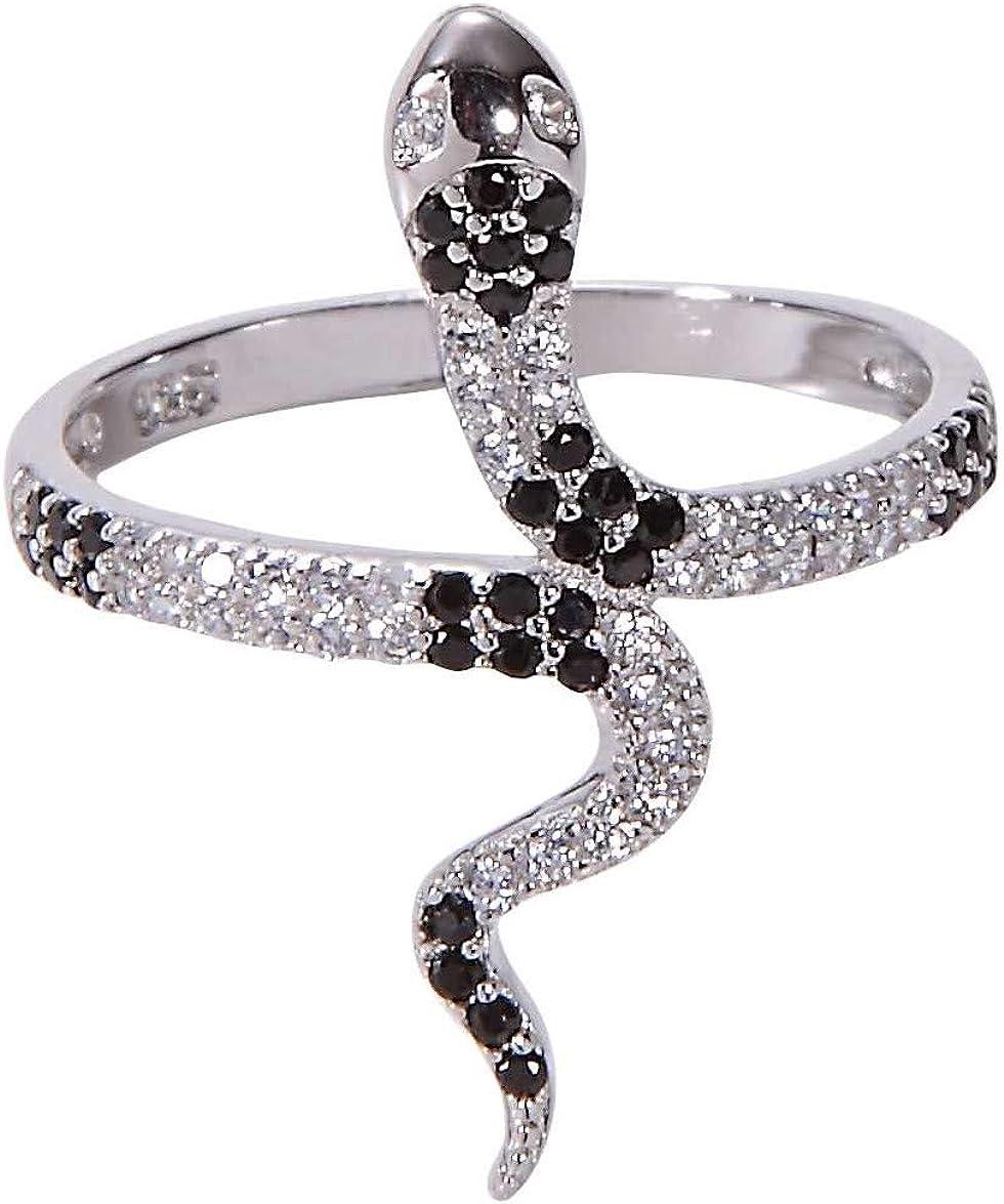 Men/'s Ring,Unisex Ring Snake Ring Women/'s Ring Gold Snake Ring Adjustable Ring Snake Jewelry Silver Snake Ring Snake Adjustable Ring