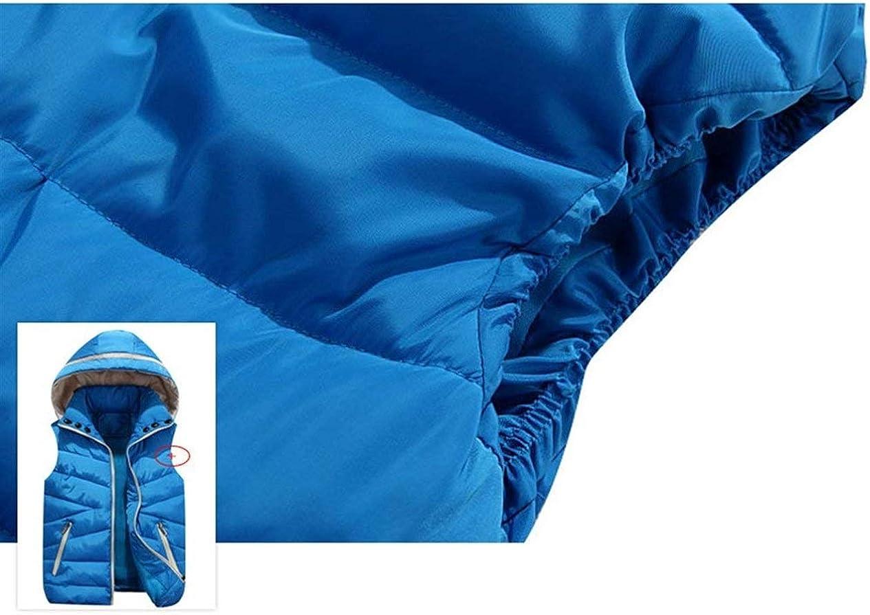 Gilet Trapuntato Donna Smanicato Incappucciato Autunno Invernali Gil/è Giacca Trapuntata Ragazza Casuale Termico Calda con Cerniera Gilet Cappotto Prodotto Plus