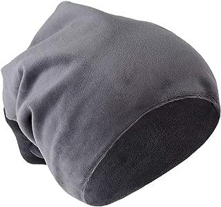 Dolity Mens Womens Velvet Winter Warm Slouch Beanie Ski Hip Hop Hat Cap Oversized