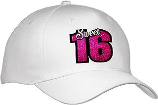 1fdc6ee2078 3dRose Sven Herkenrath Birthday - Sweet Sixteen with Pink Glitter for  Birthday Girl Women Gift Happy