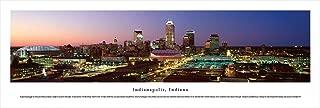Indianapolis, Indiana - Unframed Blakeway Panoramas Print