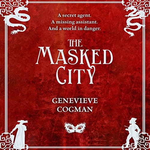 The Masked City audiobook cover art