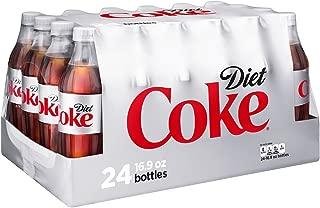 Coca-Cola Diet Coke Soda, 16.9 Ounce, (24 Bottles)