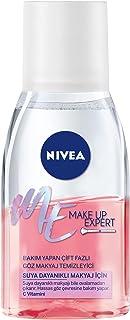 Nivea Face Make Up Expert Bakım Yapan Çift Fazlı Göz Makyaj Temizleyici 125 ml