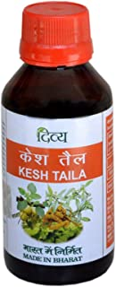 Divya Kesh Tail (Ayurvedic Herbal Hair Oil for Hair Loss, Dandruff and Headache), 100 ml