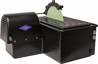 "Hi-Tech Diamond 10"" Lapidary Slab Saw | Cutting Sawing Slabbing Machine | Includes TWO 10"" Diamond Saw Blades"