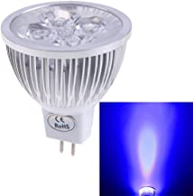 Chinatera Mr16 4W 12V Led Spotlight Lamp Down Light Low Power Comsumption (Blue)