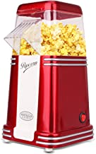 Popcorn Machine Maker 220V 1100W Electric Vintage for Kitchen Appliances Household Automatic Mini Hot Air Corn Popcorn Mak...
