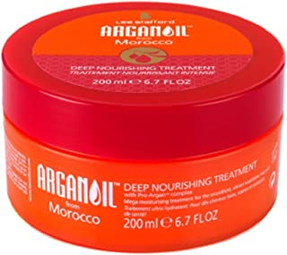Lee Stafford Argan Oil from Morocco Deep Nourishing Treatment For Conditioning and Treating Dry and Damaged Hair 200ml