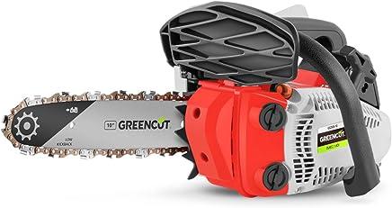 Greencut GS2500 10 - Motosierra de gasolina, 25,4cc - 1,4cv, espada 10