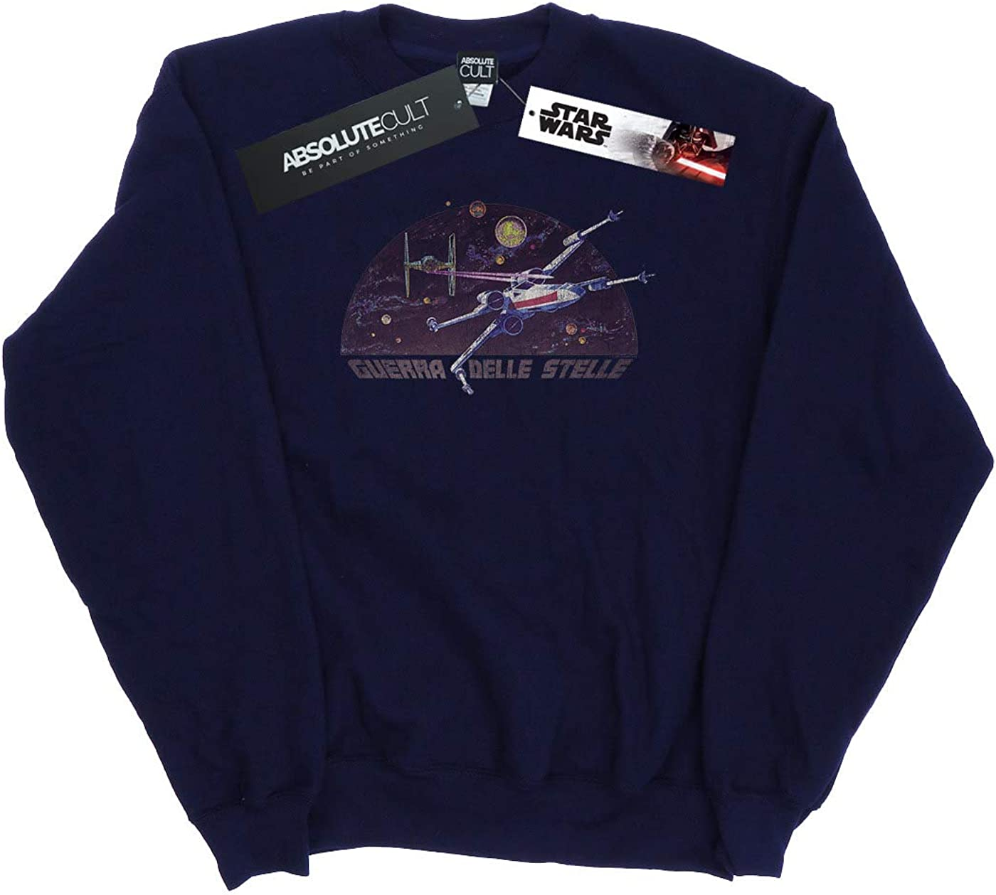 Star Wars Girls Italian Title X-Wing Sweatshirt