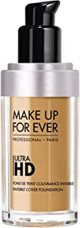 Make Up For Ever Y385 Ultra Hd Invisible Cover Foundation, 30 Ml