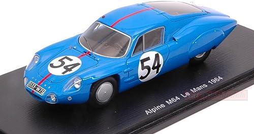 servicio honesto SPARK MODEL S5682 ALPINE M64 N.54 DNF LM LM LM 1964 P.VIDAL-H.GRANDSIRE 1 43 DIE CAST  ordene ahora los precios más bajos