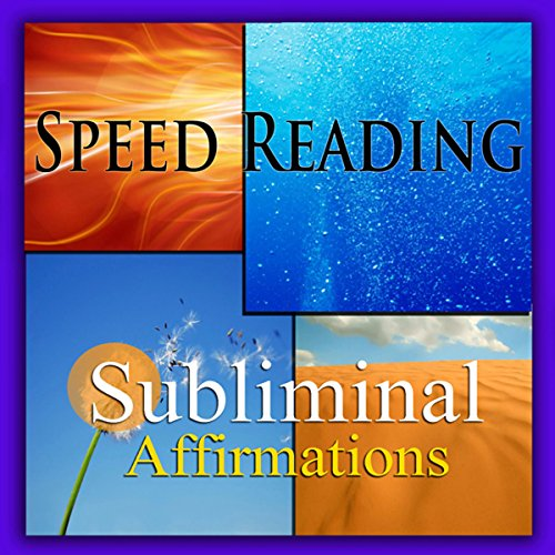 Speed-Reading Subliminal Affirmations audiobook cover art