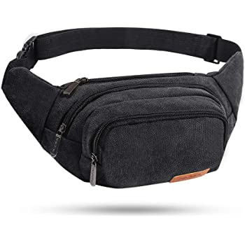 Travel Waist Pack,travel Pocket With Adjustable Belt Endless Flowers Running Lumbar Pack For Travel Outdoor Sports Walking
