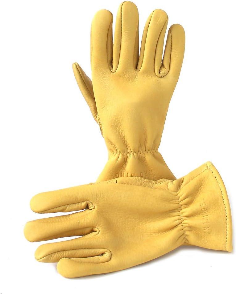 Red Wing Weekly update Heritage Lined sale Gloves Yellow Deerskin XL