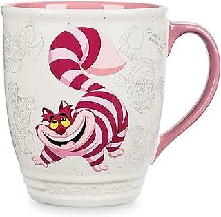 Disney Store Cheshire Cat Classic Coffee Mug Cup 2017