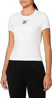 PUMA Women's Classics Fitted T-Shirt