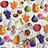 MAGAM-Stoffe Herbstfrüchte Obst Herbst Kinder