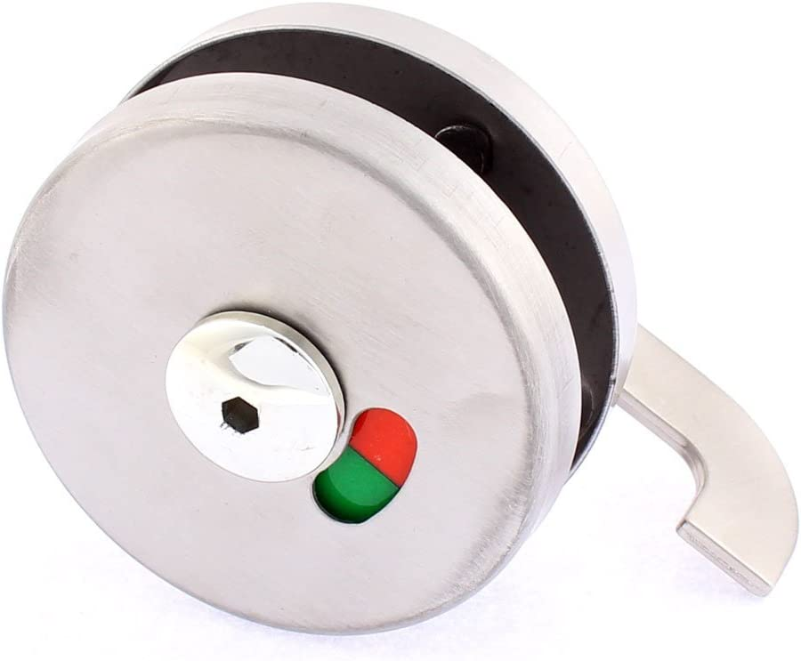 YeVhear Bathroom Engaged Toilet Door Sliding Lock Indicator Latc Sales for Today's only sale