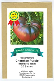 Alte, seltene, purpur-pinke Fleischtomate - Cherokee purple - 20 Samen