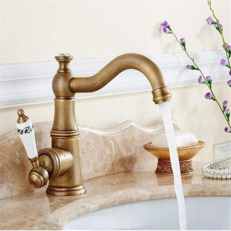 Retro Tippen Moderner Luxuskupfermischer Waschtischarmatur Für Badezimmer Waschtischarmatur Waschtischarmaturen Aus Messing