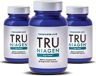 TRU NIAGEN Nicotinamide Riboside - Patented NAD Booster for Cellular Repair & Energy, Vitamin B3 Niacin NMN, 150mg Vegetarian Capsules, 300mg Per Serving, 30 Day Bottle - (Pack of 3)