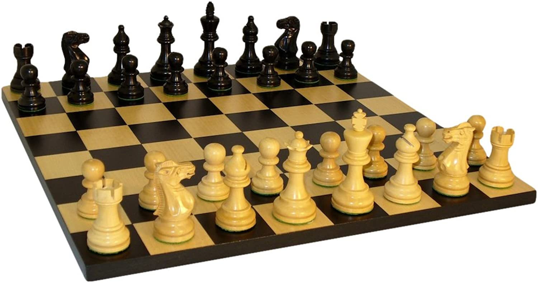 American Emperor Basic Chess Set, schwarz by Worldwise Imports