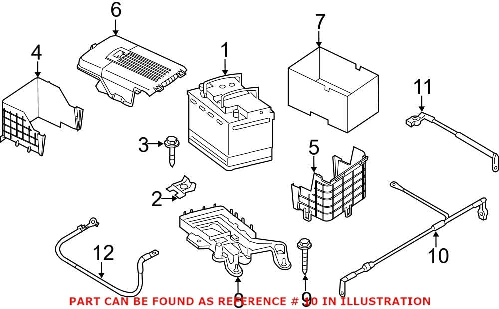 Genuine OEM Battery Cable for Product Excellent Volkswagen 5C0971228M