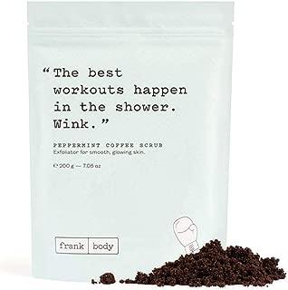 Best frank coffee scrub Reviews
