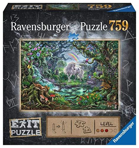 Ravensburger EXIT Puzzle Fantasy Einhorn, Puzzle Für Erwachsene Und Kinder Ab 12 Jahren, 759 Teile